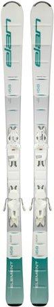 White Elan Skis