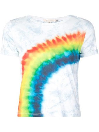 Alice+Olivia Rainbow Print T-shirt - Farfetch