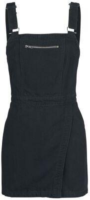 Dungaree Wrap Dress | Forplay Short dress | EMP