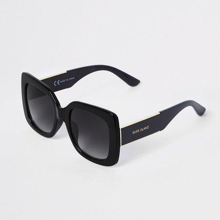Black oversized tinted lens sunglasses - Oversized Sunglasses - Sunglasses - women