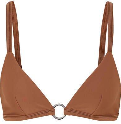 Matteau - The Ring Triangle Bikini Top - Tan