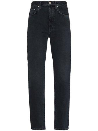 Totême mid-rise straight-leg Jeans - Farfetch
