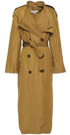 Leon Belted Cotton-blend Trench Coat