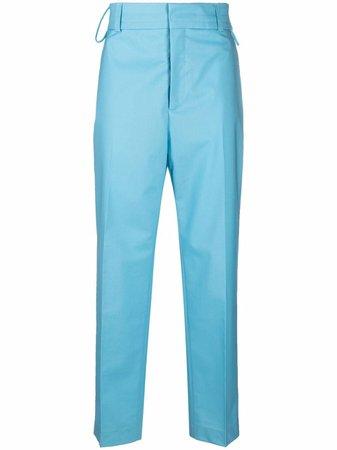 Jacquemus mid-rise straight-leg trousers - FARFETCH