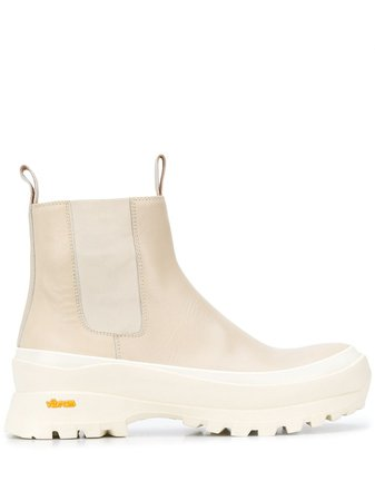 Jil Sander chunky ankle boots JP33010A10011 - Farfetch