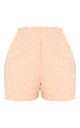 Peach Sweat Pocket Shorts | PrettyLittleThing USA