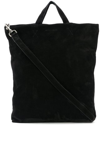 Ann Demeulemeester Textured Shoulder Strap Detail Tote Bag - Farfetch