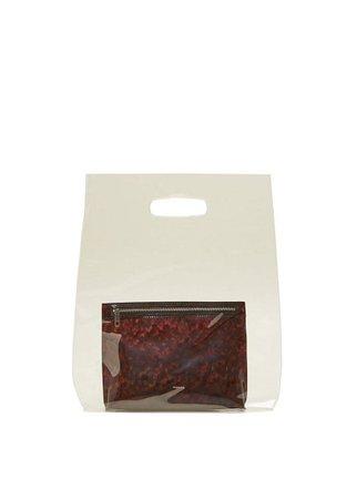 MANGO Vinyl cosmetic bag