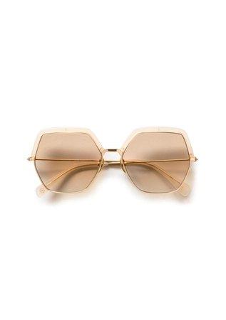 Kaleos Mangano Sunglasses - Beige | Garmentory