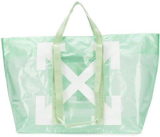 Logo Shopper Tote Bag