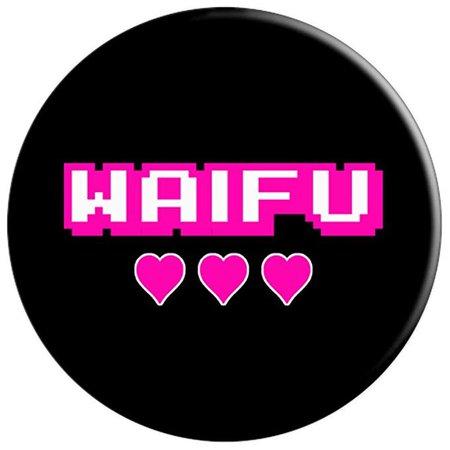 Amazon.com: Waifu Kawaii Anime Fan Girl Jpop Manga Otaku Weeaboo Heart PopSockets Grip and Stand for Phones and Tablets
