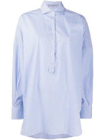 Striped Boxy Fit Shirt
