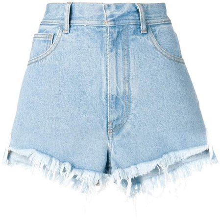 Ssheena frayed shorts