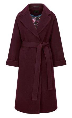 Palones burgundy coat