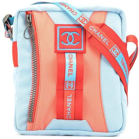2002 Sports Line zipped crossbody bag