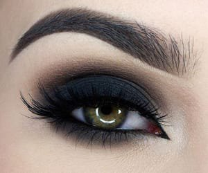 Image about black in #make up #eyes by anny on We Heart It