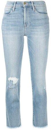 Le Hi straight leg jeans