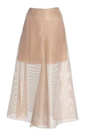 Sheer Voile Skirt by Akris   Moda Operandi