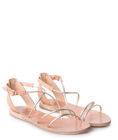 Ancient Greek Sandals Natural Platinum Meloivia Sandals < Ancient Greek Sandals List | aesthet.com