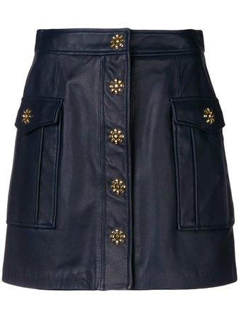 Michael Kors Flap Pocket A Line Skirt