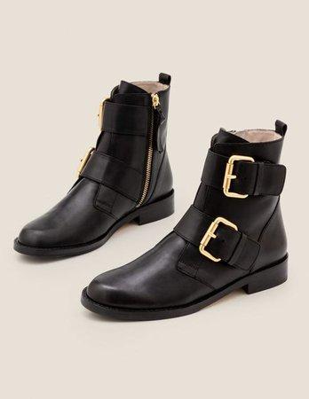 Cavenham Ankle Boots - Black | Boden US