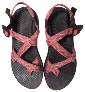 Chaco Pink/Coral Z/2 Classic Sandals Size US 10 Regular (M, B) - Tradesy