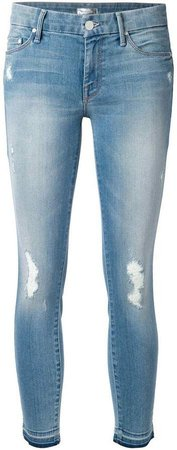 'Looker' cropped jeans