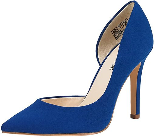 Amazon.com | JENN ARDOR Stiletto High Heel Shoes for Women: Pointed, Closed Toe Classic Slip On Dress Pumps-Blue 7.5 B(M) US | Pumps