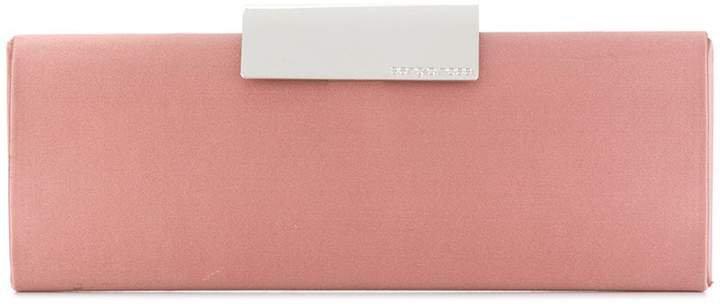 colour-block formal clutch