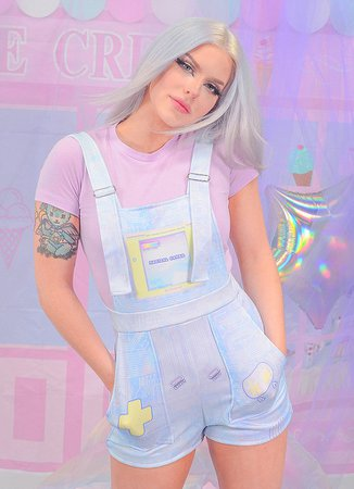 Magical Video Game Overalls – In Control Clothing