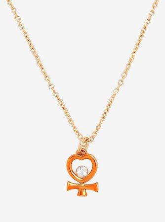 Sailor Moon Sailor Venus Dainty Symbol Necklace