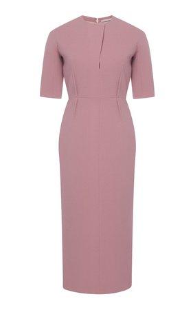 Trista Fitted Wool Dress by Emilia Wickstead   Moda Operandi
