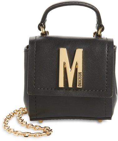 Mini M Leather Crossbody Bag