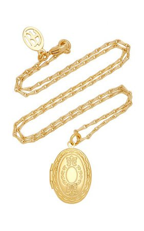Gold-Plated Locket Necklace By Ben-Amun | Moda Operandi