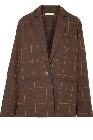MATIN | Prince of Wales checked cotton blazer | NET-A-PORTER.COM