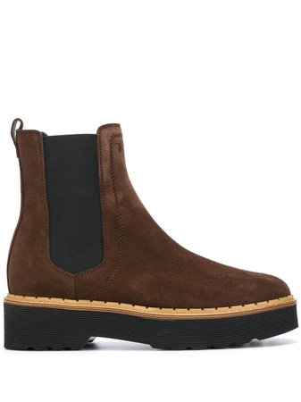 Tod's Suede Chelsea Boots - Farfetch
