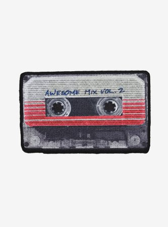 Marvel Guardians Of The Galaxy Vol. 2 Awesome Mix Cassette Patch