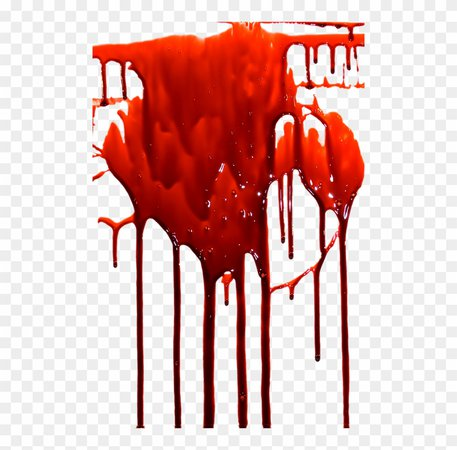 Transparent Dripping Blood Background - Transparent Dripping Blood, HD Png Download - 500x747(#317402) - PngFind