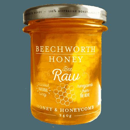 Bee Raw Honey & Honeycomb