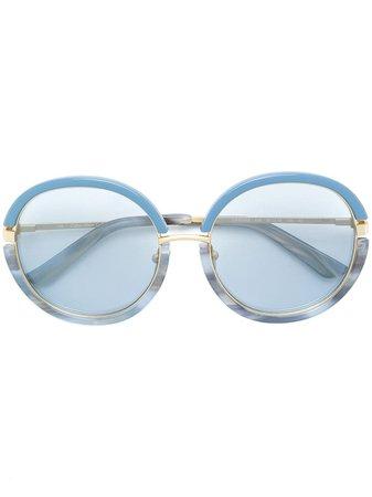 Calvin Klein 205W39nyc Round Tinted Sunglasses - Farfetch