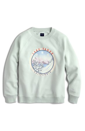 J.Crew Lake Tahoe Fleece Sweatshirt | Nordstrom