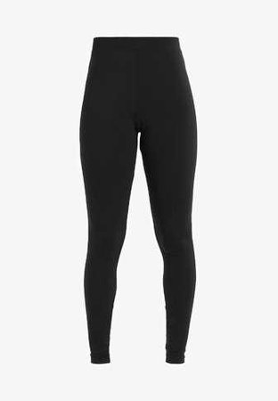 adidas Originals ADICOLOR TREFOIL TIGHT - Leggings - Trousers - black - Zalando.co.uk
