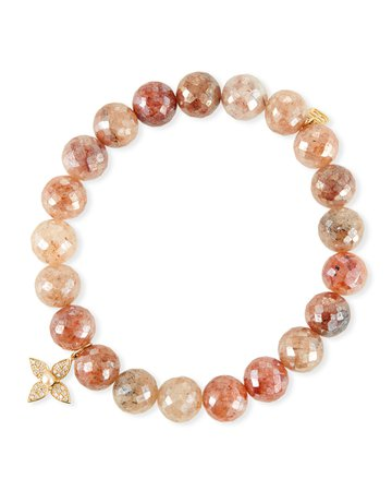 Sydney Evan 14k Strawberry & Paisley Pearl Bracelet