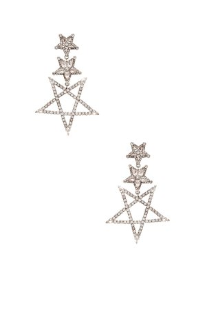 Star Drop Earring