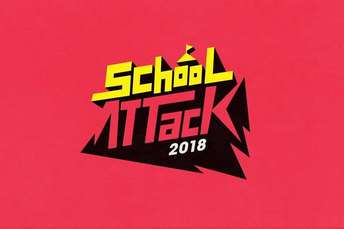 School Attack Logo