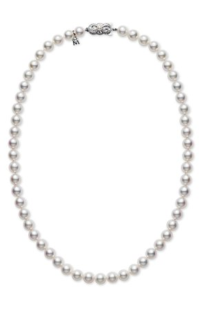 Mikimoto Pearl Necklace | Nordstrom