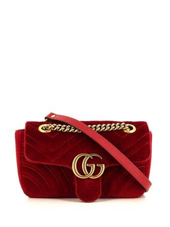 Gucci Pre-Owned Mini Marmont GG Shoulder Bag - Farfetch