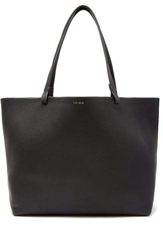 Park Grained Leather Bag - Womens - Black