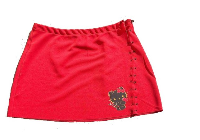 Red Hello Kitty Skirt