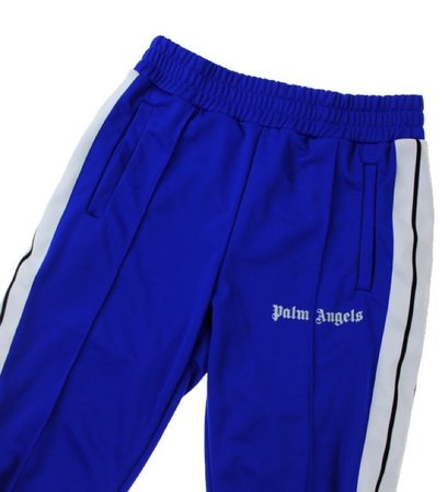 Palm angels bottoms blue